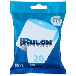 Мон Рулон бумага туалетная влажная №20